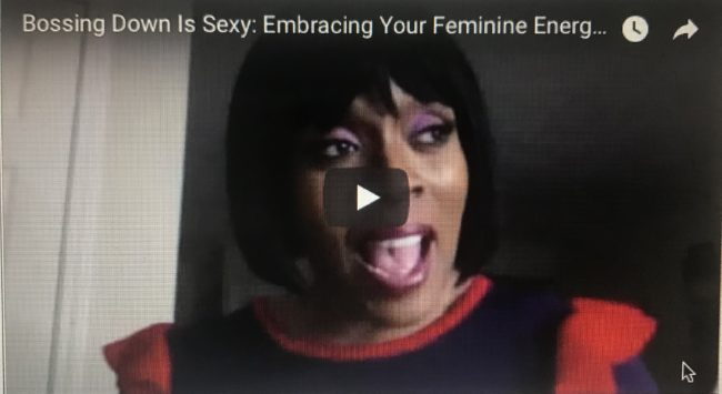 Bossing Down Is Sexy: Embracing Your Feminine Energy vs Male